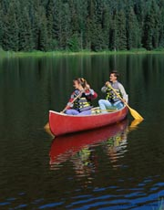 Canoe ride; Size=180 pixels wide