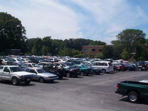 A car lot; Size=240 pixels wide