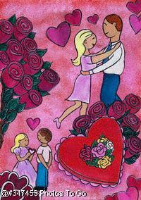 Illustration: Be my valentine