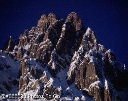 Mountains w/snow